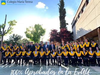 100% Aprobados en la EvAU 2021