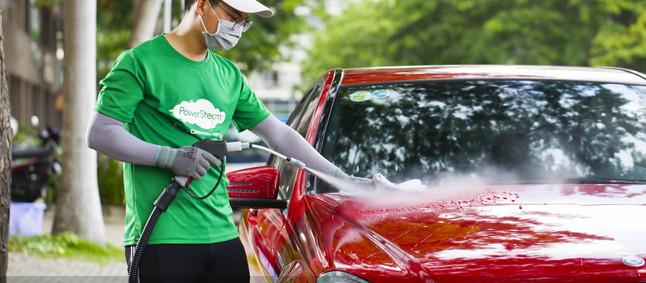 Rửa ngoài, vệ sinh ngoại thất ô tô tận nơi - Dịch vụ vệ sinh PowerSteam