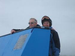Dick and Terry - Bluebird Unveiling