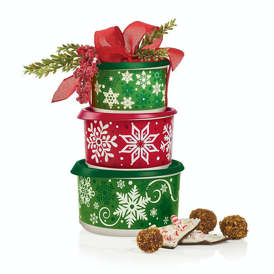 Ensemble de contenants festifs*