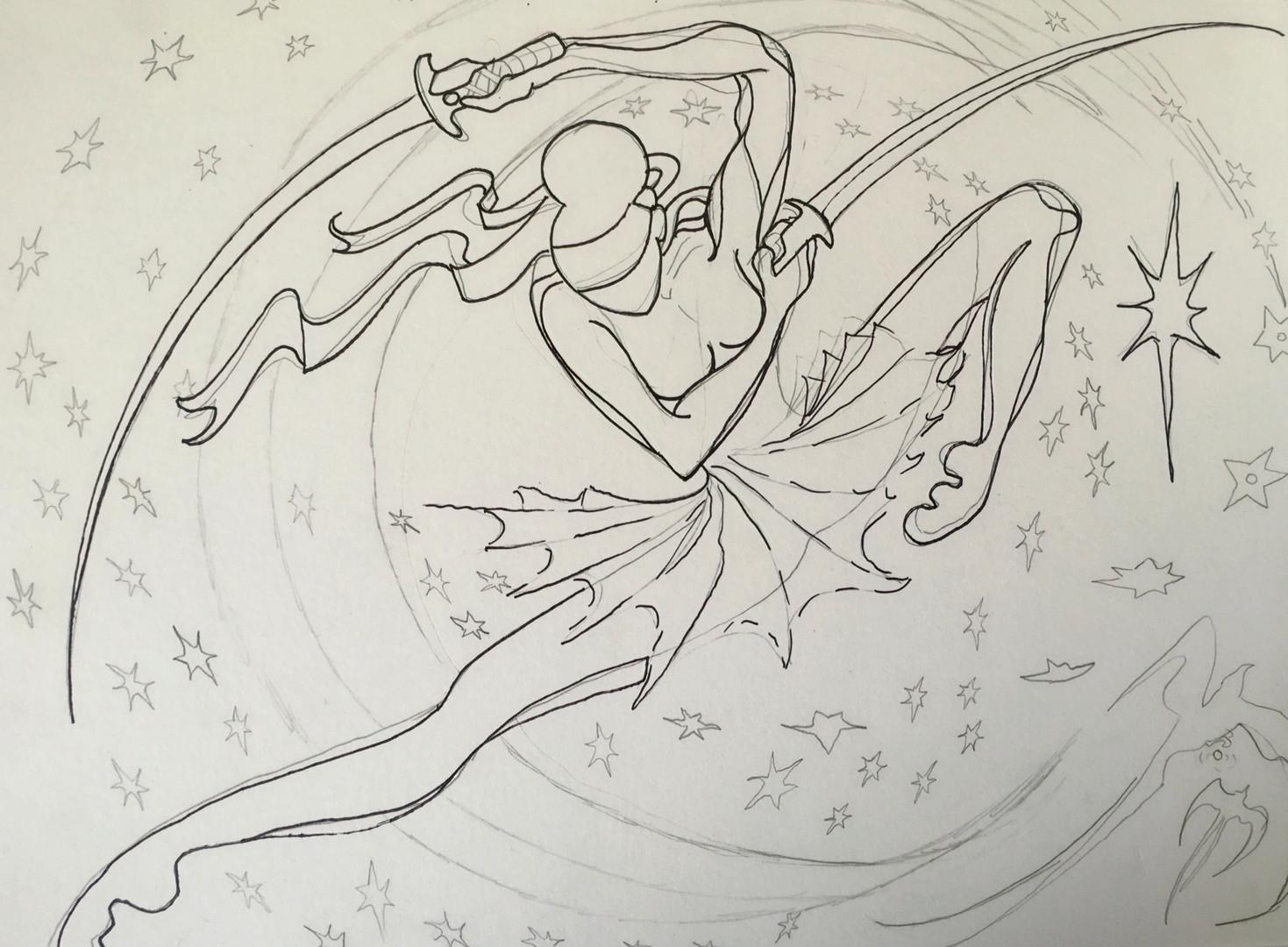Ninja Ballet Artwork