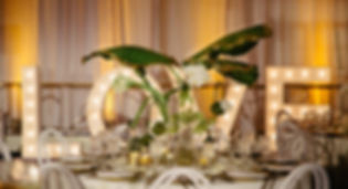 Luxurious Events wedding table setup