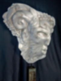 mythos stein, skulptur, carrara marmor,