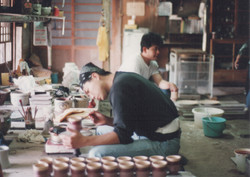 Working in Mashiko, Japan-1994