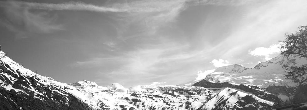 Eine Auszeit mit Aussicht - Schäferstube Saas-Fee
