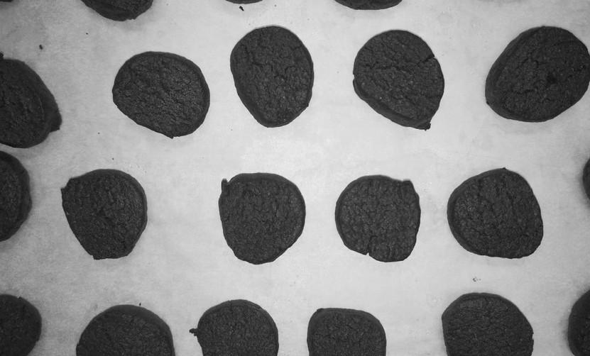 Hausgemachte Schoggi-Orangen-Kekse