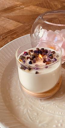 'Indulgence' Crystal Soy Candles