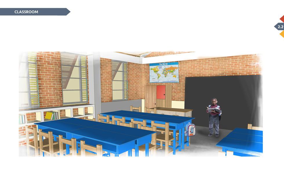 Shimbwe school renovations