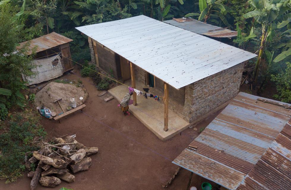 Rammed Earth House, Shimbwe