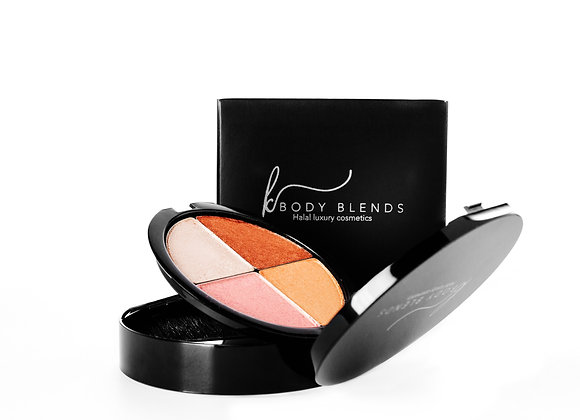 Quad day and night glam sets