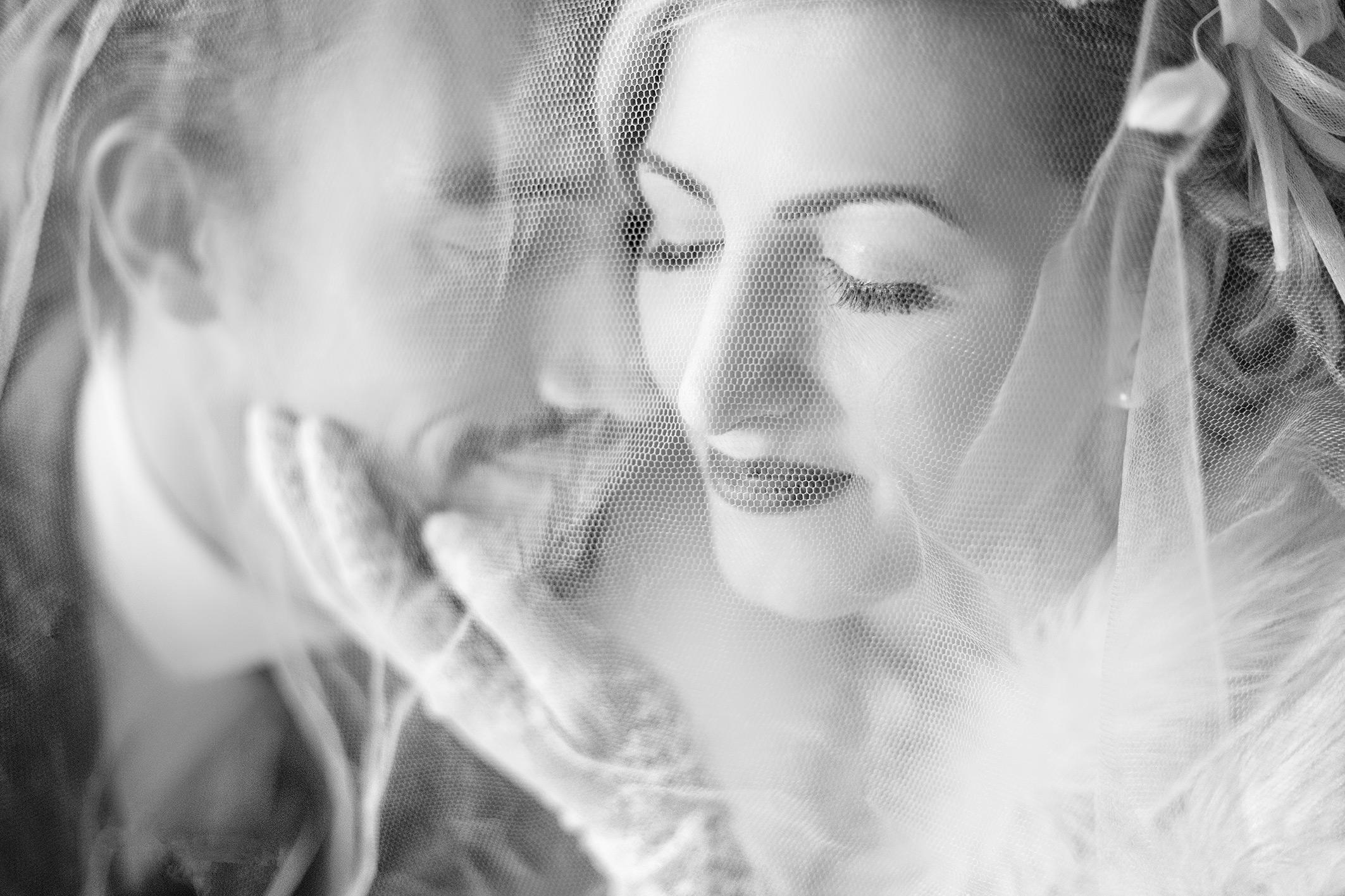 Hochzeitsfoto Brautpaarportrait