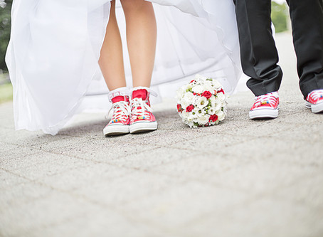 Die emotionale Hochzeit in roten Chucks - Markkleeberg