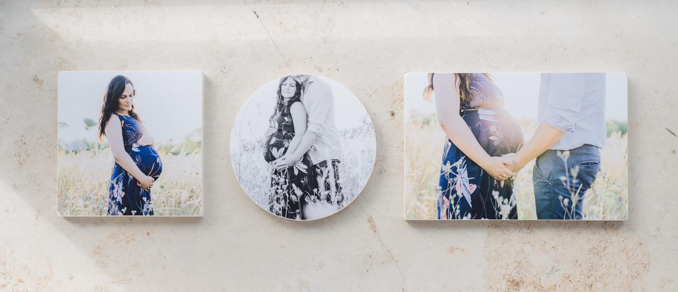 Holzbild-Collage für die Wand