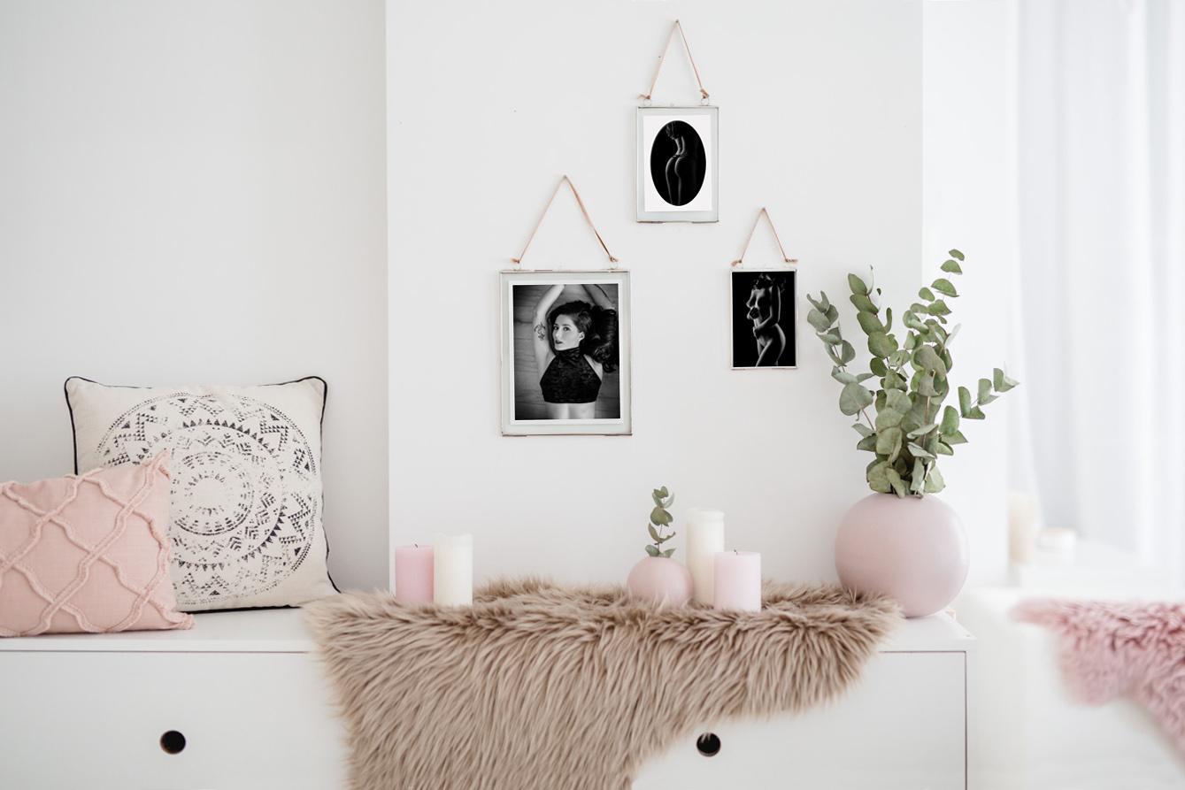 Sinnliche Fotos als Rahmen-Galerie