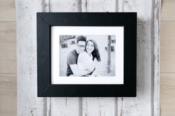Foto-Passepartout-Box in schwarz