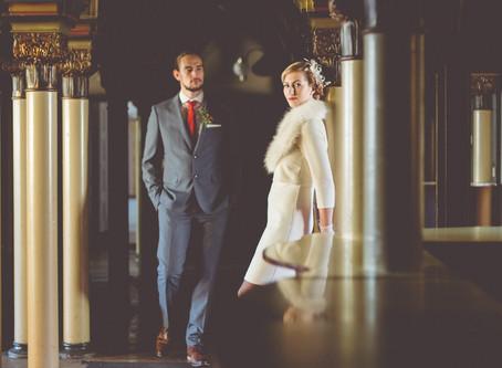 Vintage Wedding - Hochzeitsfotos im alten Stadtbad Leipzig