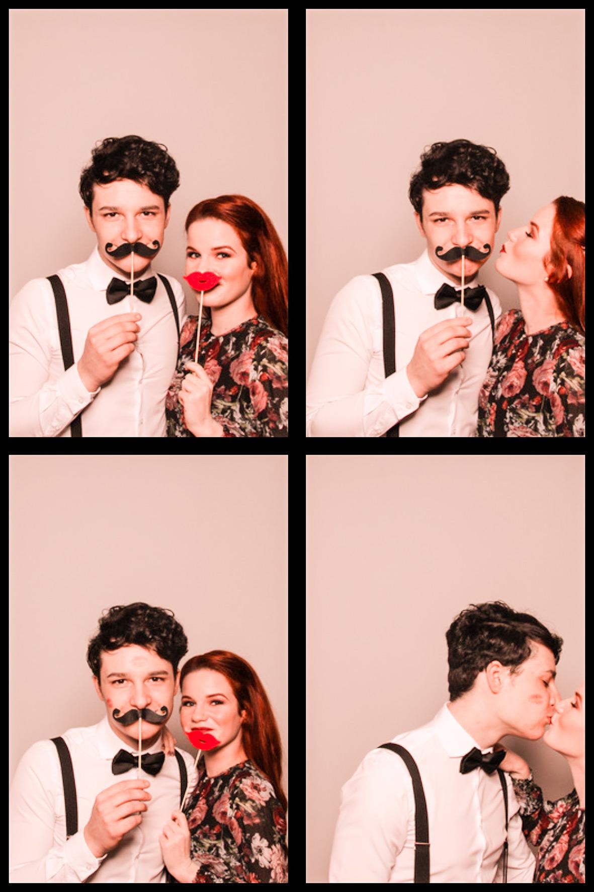 Heimliche Küsse im Photobooth
