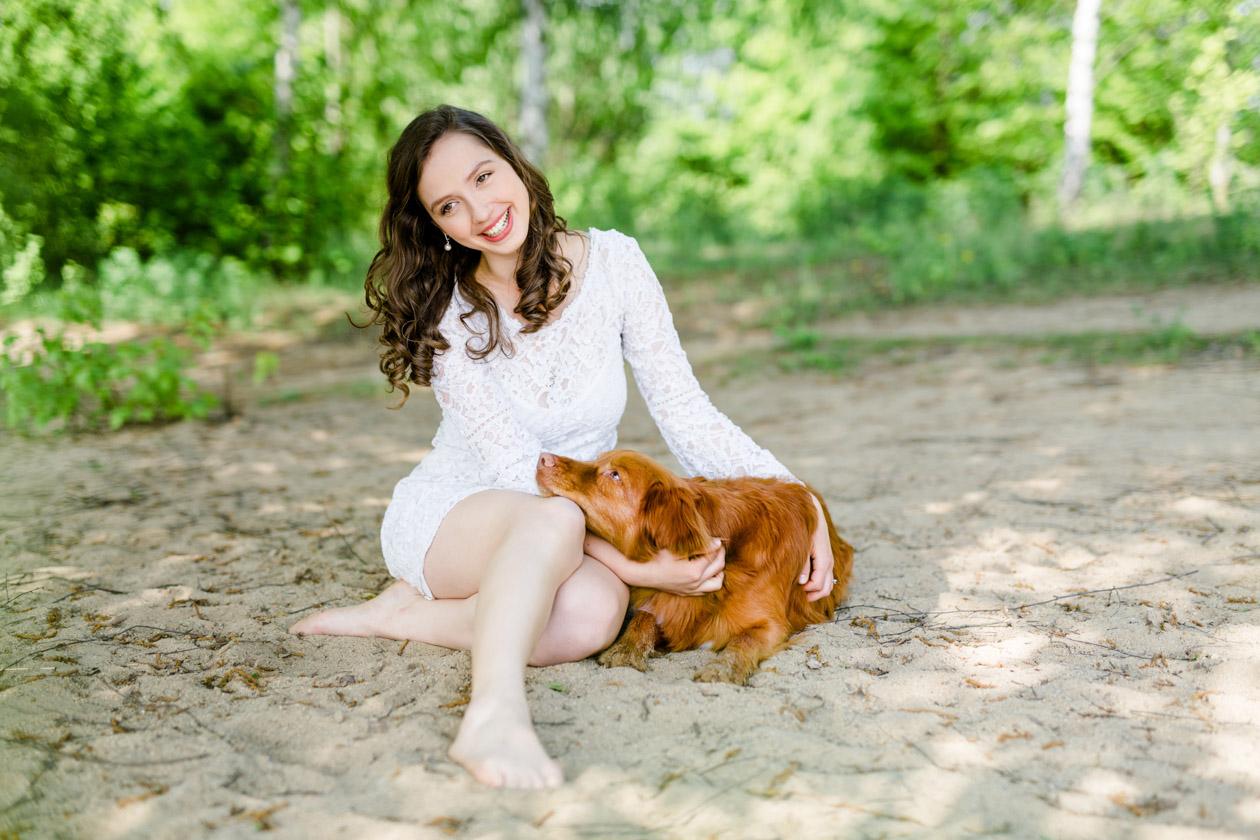 Fotoshooting mit Hund