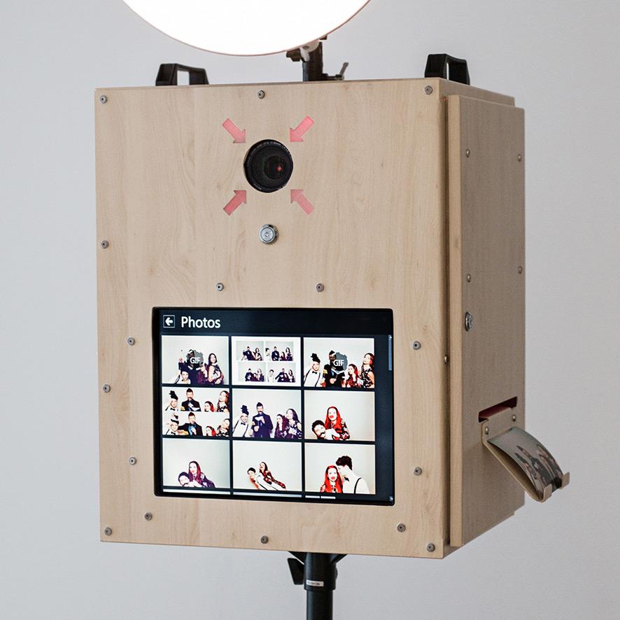 Fotobox Leipzig mit Touchbildschirm