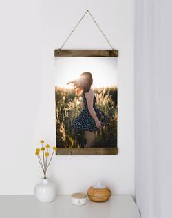 Lieblingsbild als hängende Leinwand