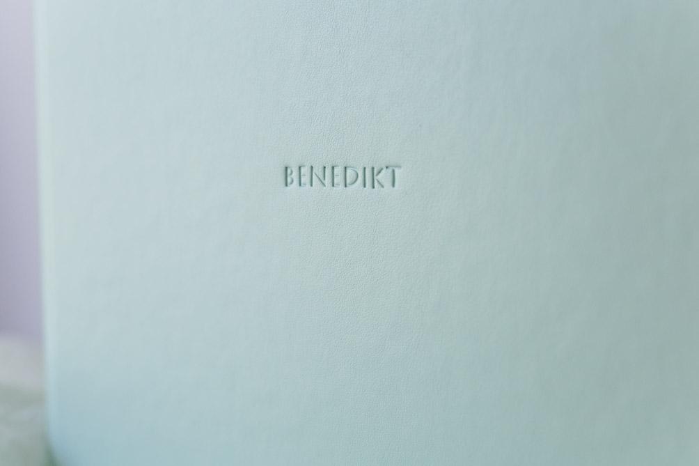 Fotoalbum im Ledereinband