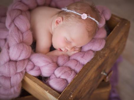 Baby Newborn Fotoshooting - Baby Girl