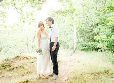 Boho Wedding - Hochzeitsfotos im Vintage Wedding Stil, in Brandis