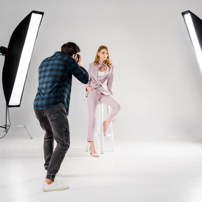 Individuele workshops studiofotografie met model