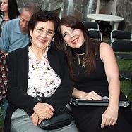 Con Lourdes Carmona