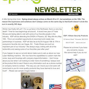 April - June 2019 Newsletter!