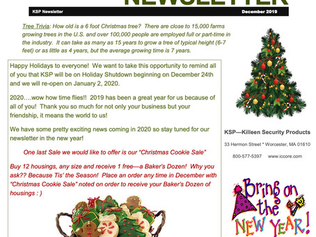 2019 Holiday Newsletter!