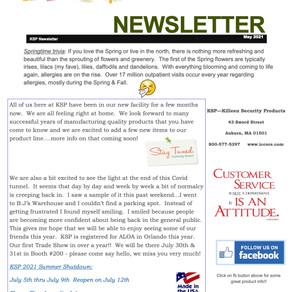 Spring 2021 Newsletter!