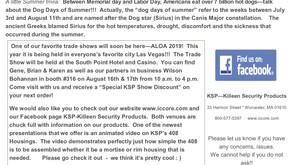 July - September 2019 Newsletter!