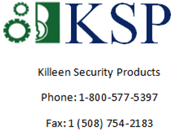 Killeen Security Products KSP Worcester Massachuetts