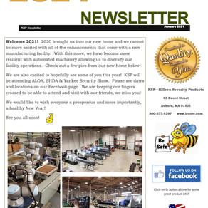 2021 New Year Newsletter!