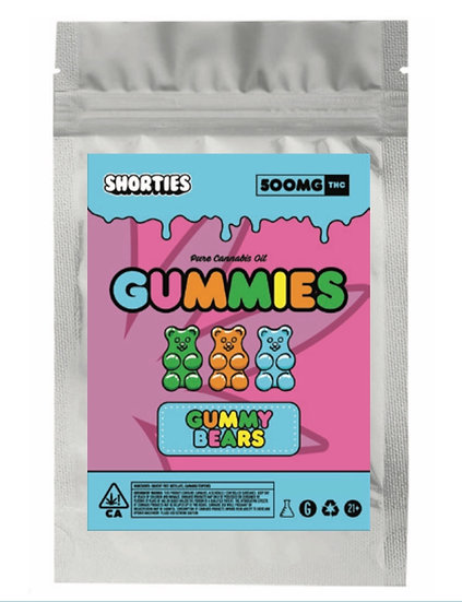 500mg Shorties Sour Patch Kids
