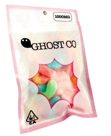 1000mg Ghost Co Gummy Bears