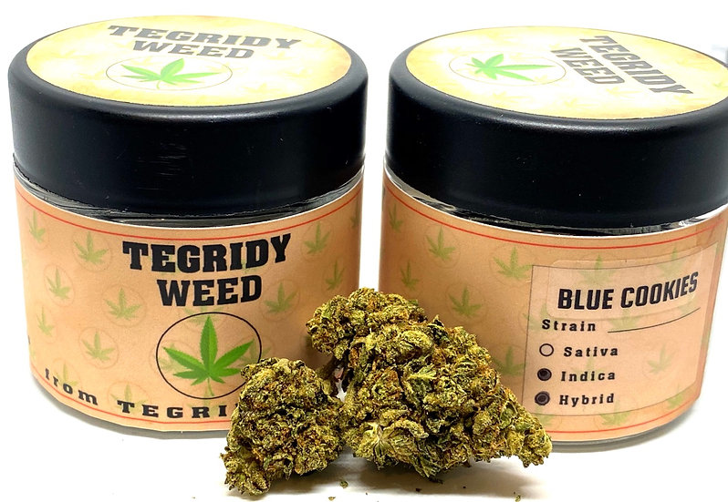 Tegridy Blue Cookies