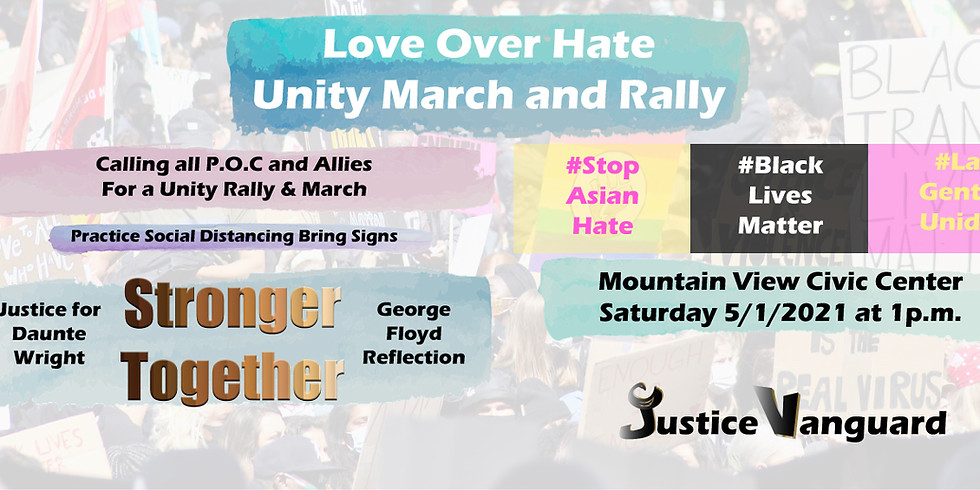 Love Over Hate Unity March and Rally