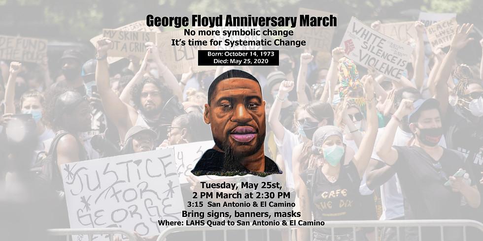 George Floyd Anniversary March