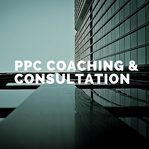 PPC One-on-One Coaching (By Hour)