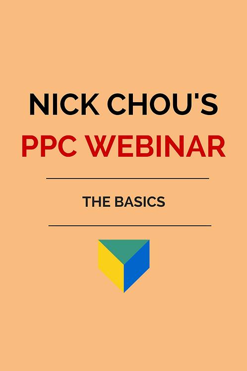PPC Webinar - The Basics
