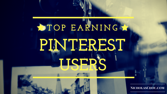 Top Earning Pinterest Users