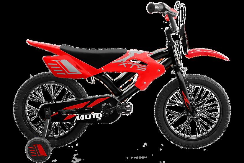 Moto 12 - Rojo