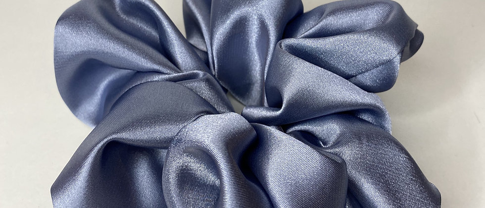 Cerulean Blue Satin