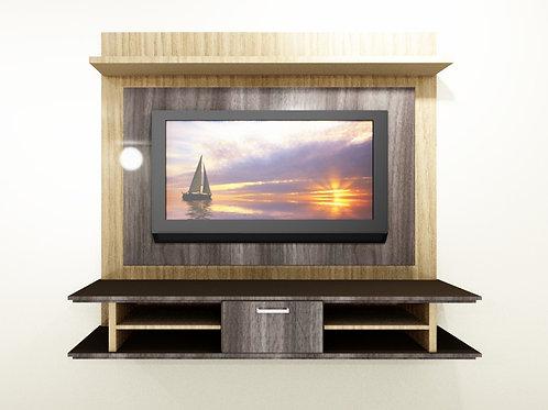 Yolande 2 Tone - Floating TV Unit (1,784 M Wide x 1,602 M High)