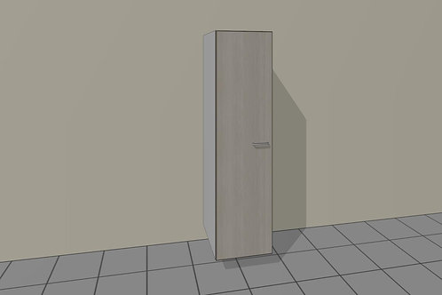 Tall Kitchen Grocery 1 Door Left Hand 1920 MM High x 500 MM Wide