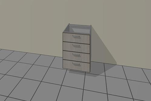 4 Drawer (450 mm Wide) Base Unit x 720 MM High