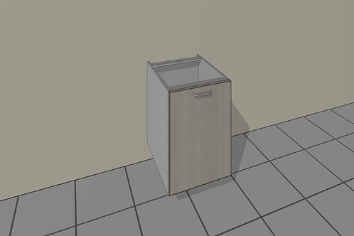 Dust Bin (450 mm Wide) Pull Out Base Unit x 720 MM High