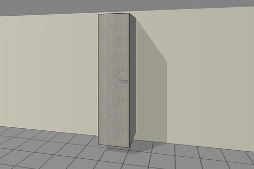 5 Internal Drawers 550 mm Wide 1 Door Left + Shelves x 2300 MM High